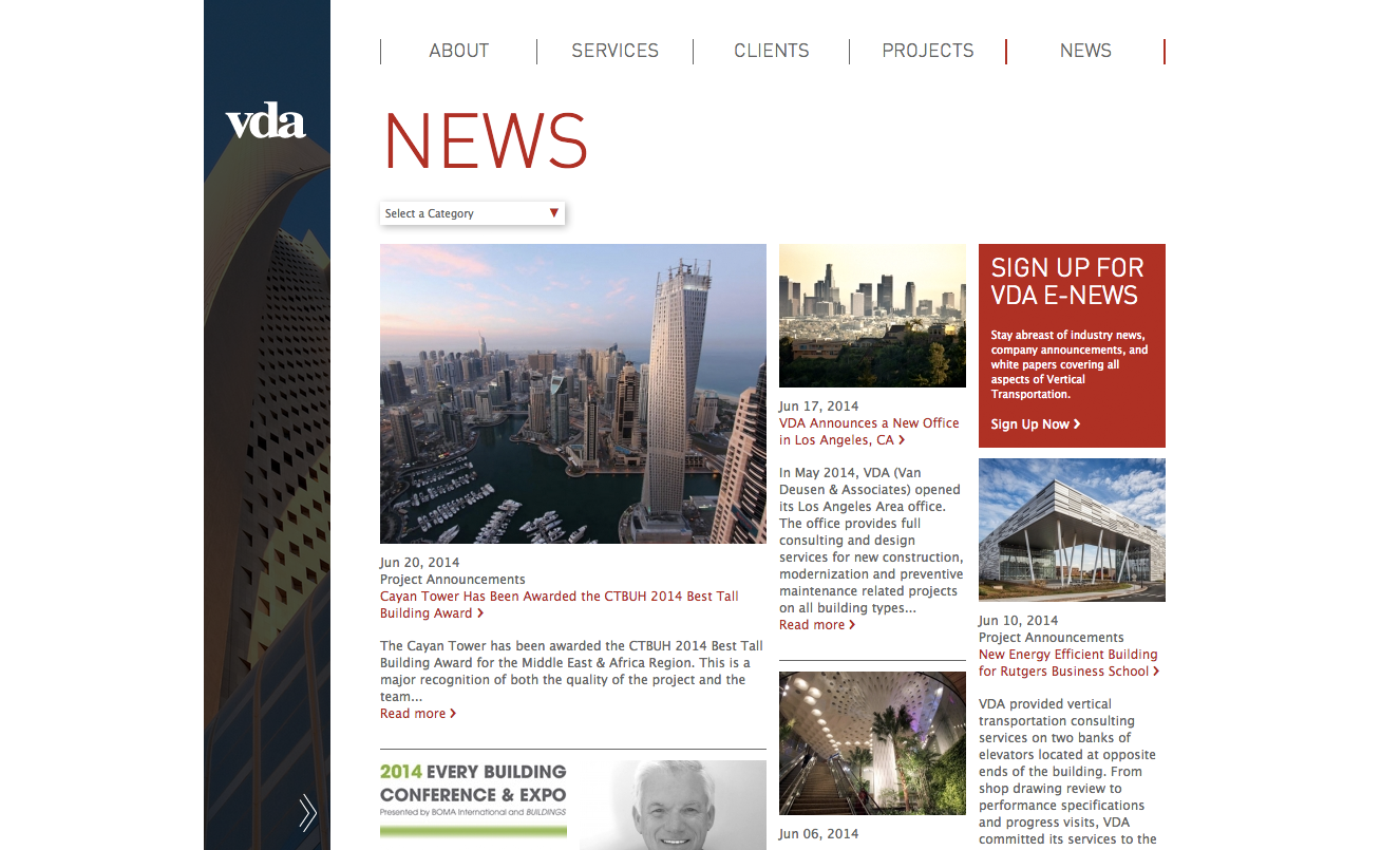Project Image for Websites, VDA