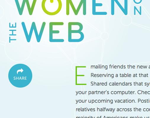 Women on the Web