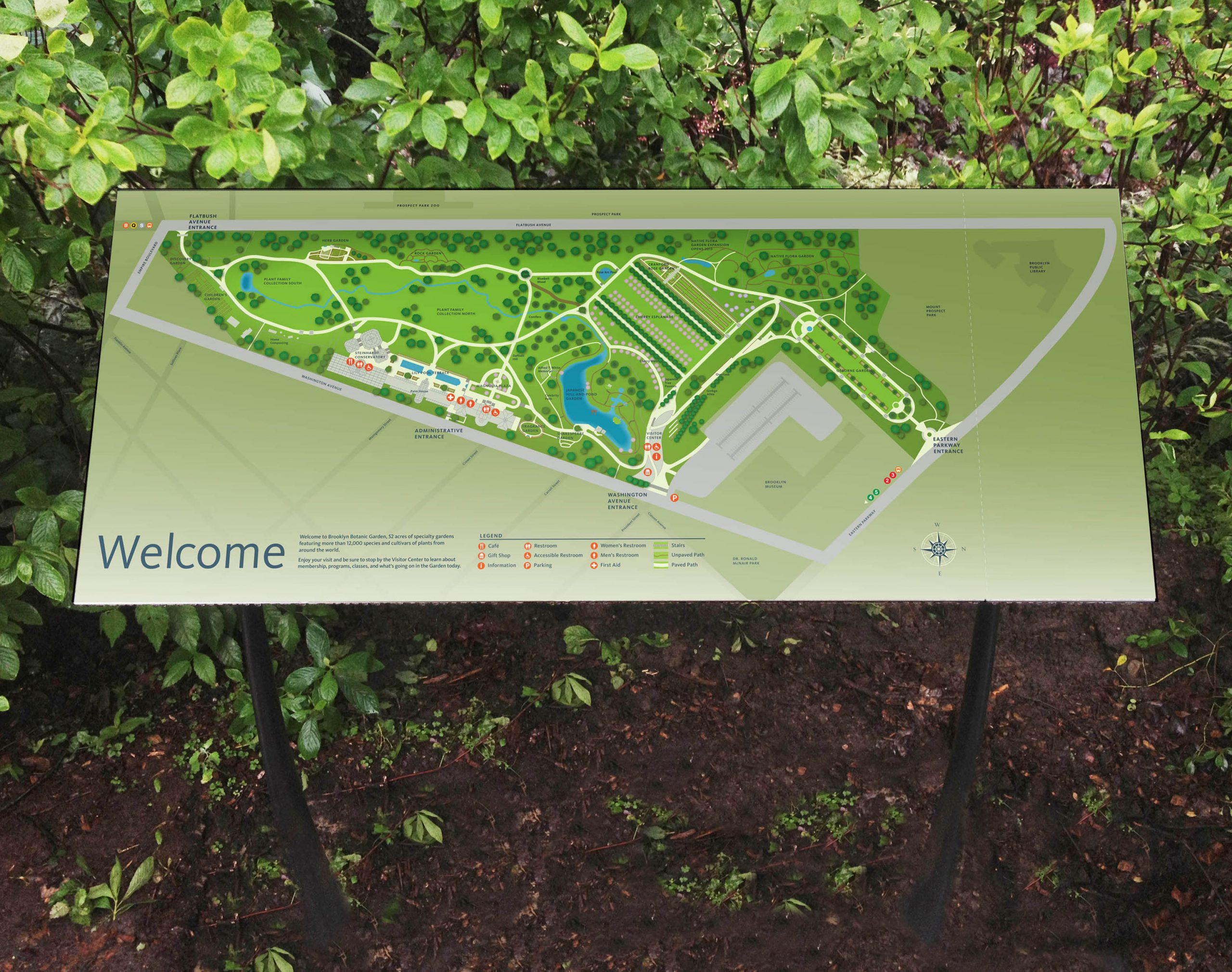 Project image 1 for Mapping, Brooklyn Botanic Garden