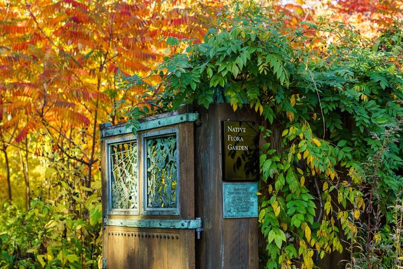 Brooklyn Botanic Garden C&G Partners signage