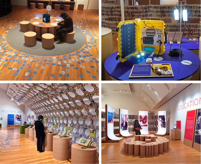 C&G Partners exhibition design A Path Appears
