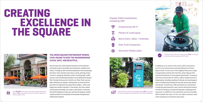 Union Square Partnership Annual Report 2016