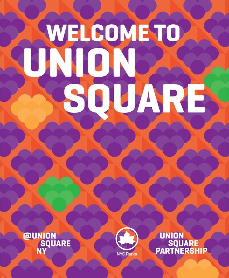 Union Square Partnership Spring Poster