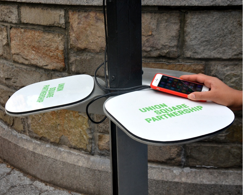 Union Square Solar phone chargers