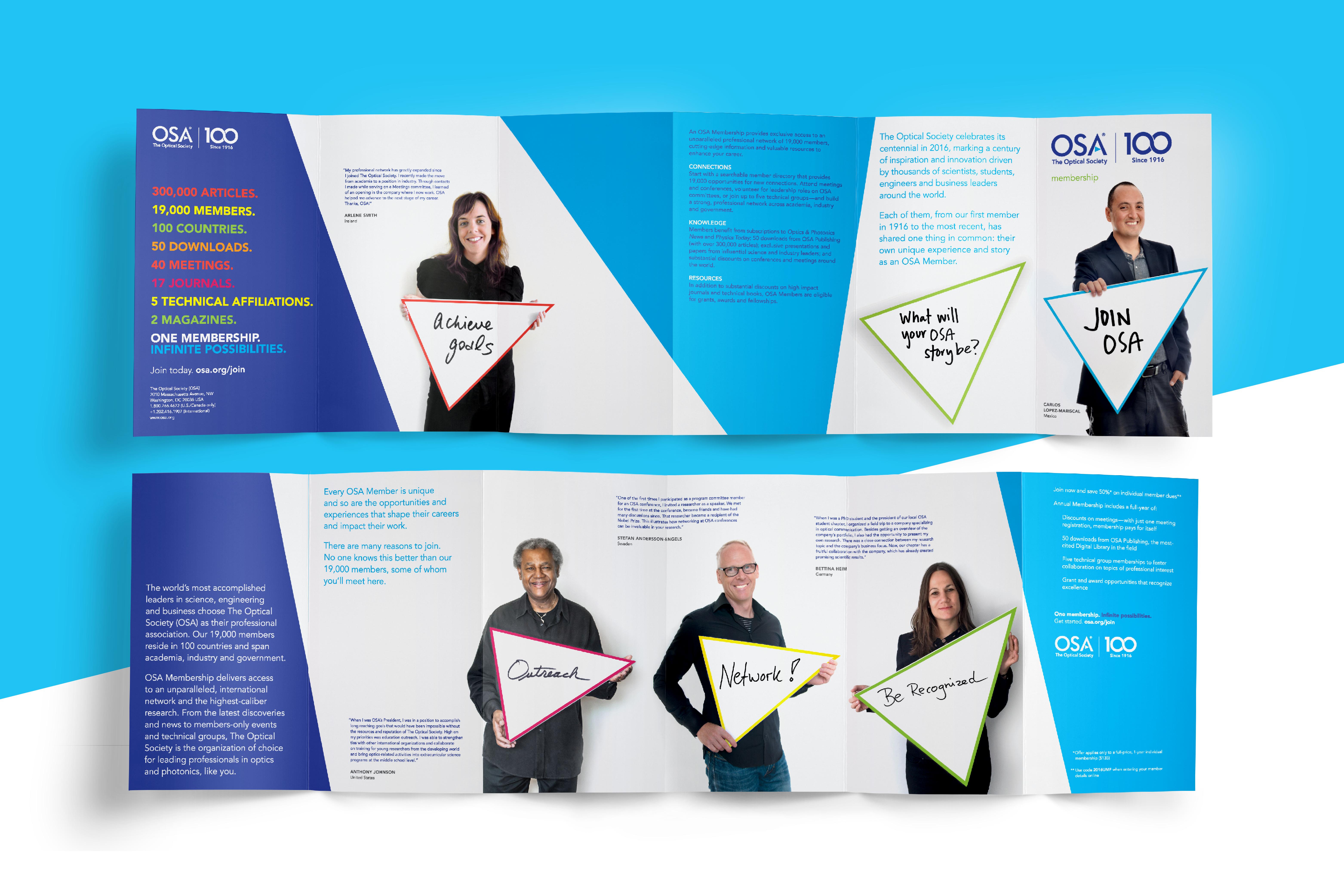 OSA Centennial Membership Brochure 2