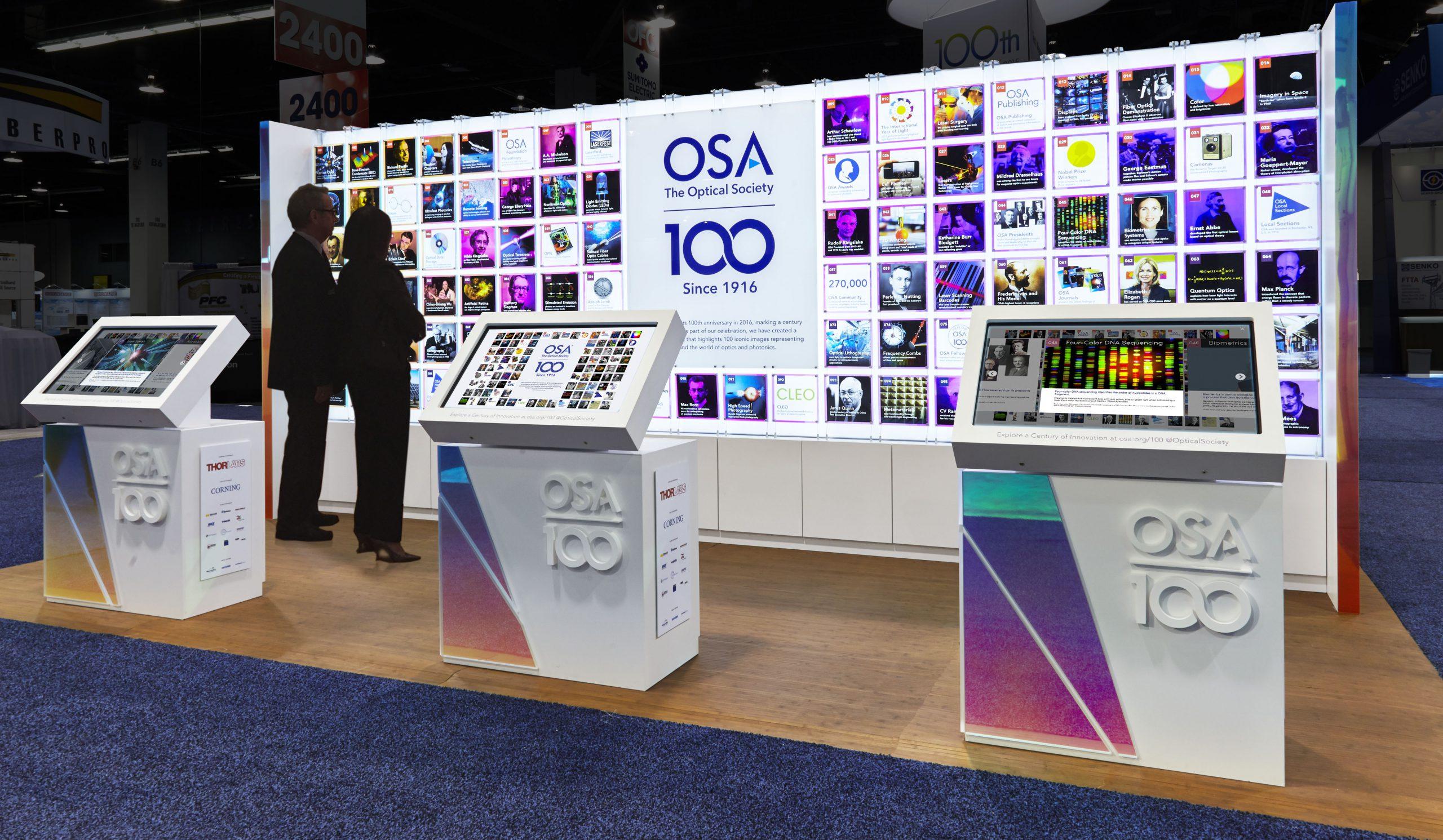 The Optical Society centennial celebration