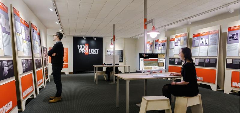 exhibit design for archival documents