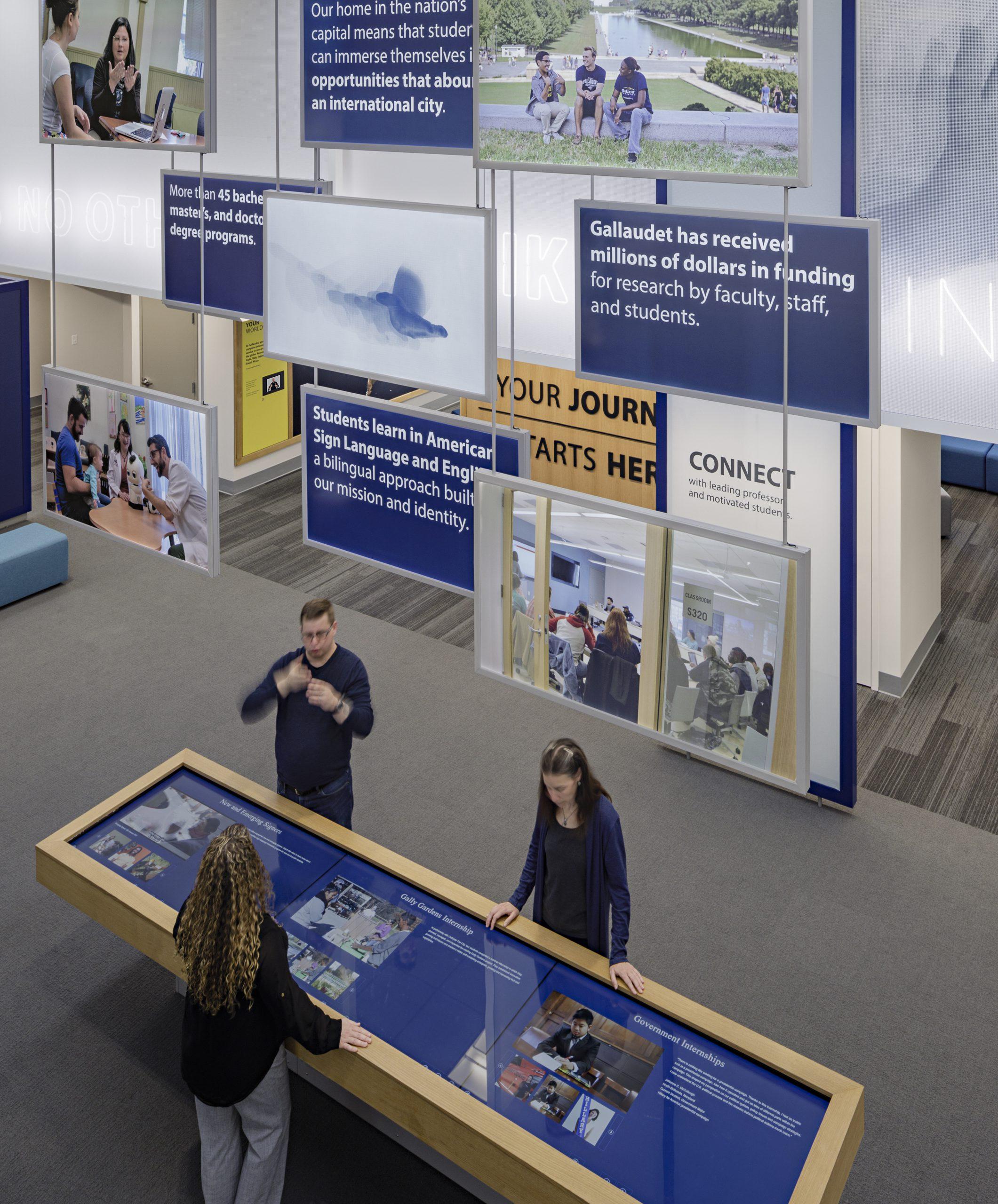 Exhibit Design DeafSpace Gallaudet University