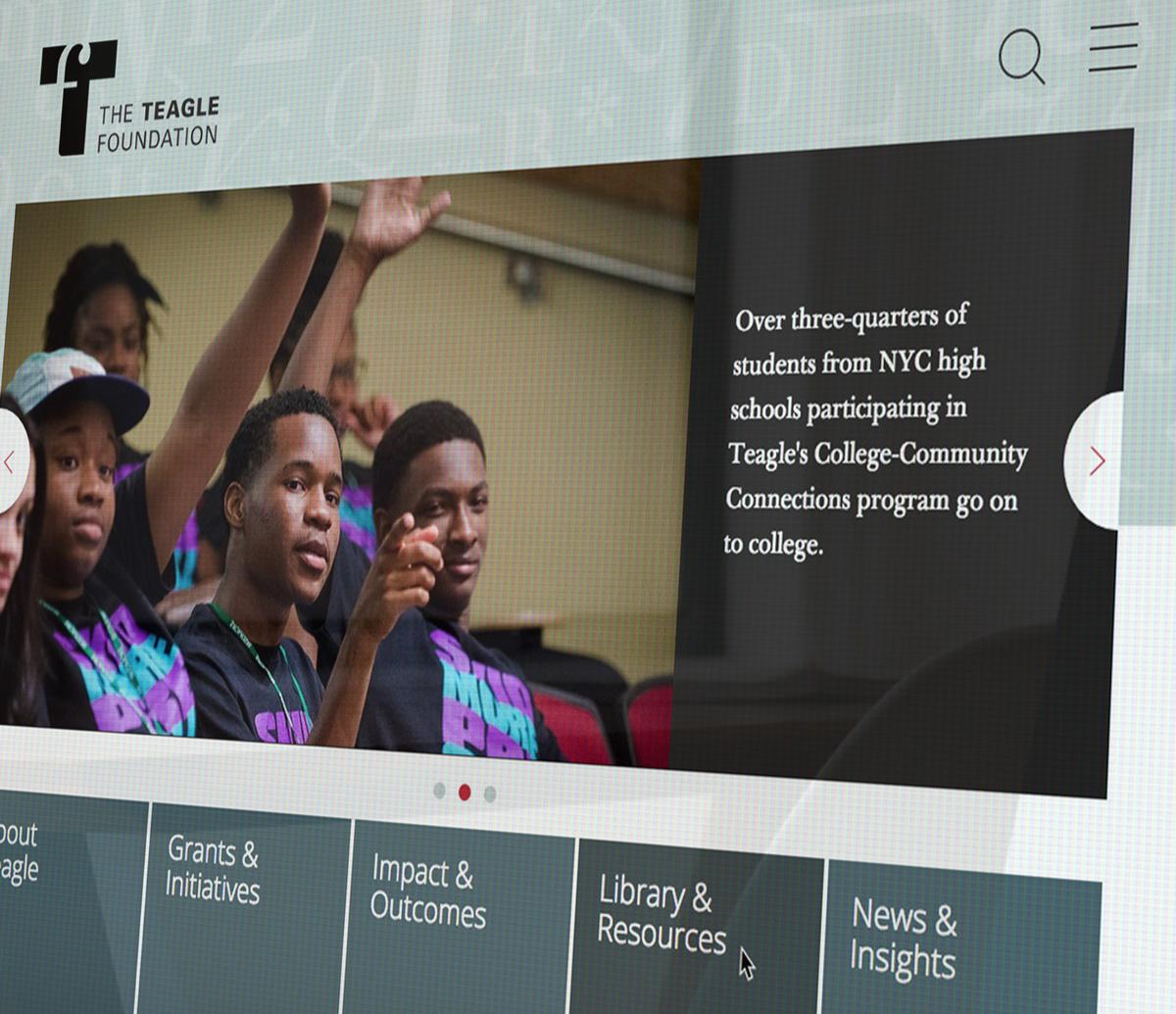 Teagle Foundation Website LARGE