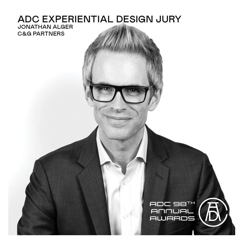 Jonathan Alger ADC Jury member