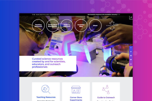 web design for science education