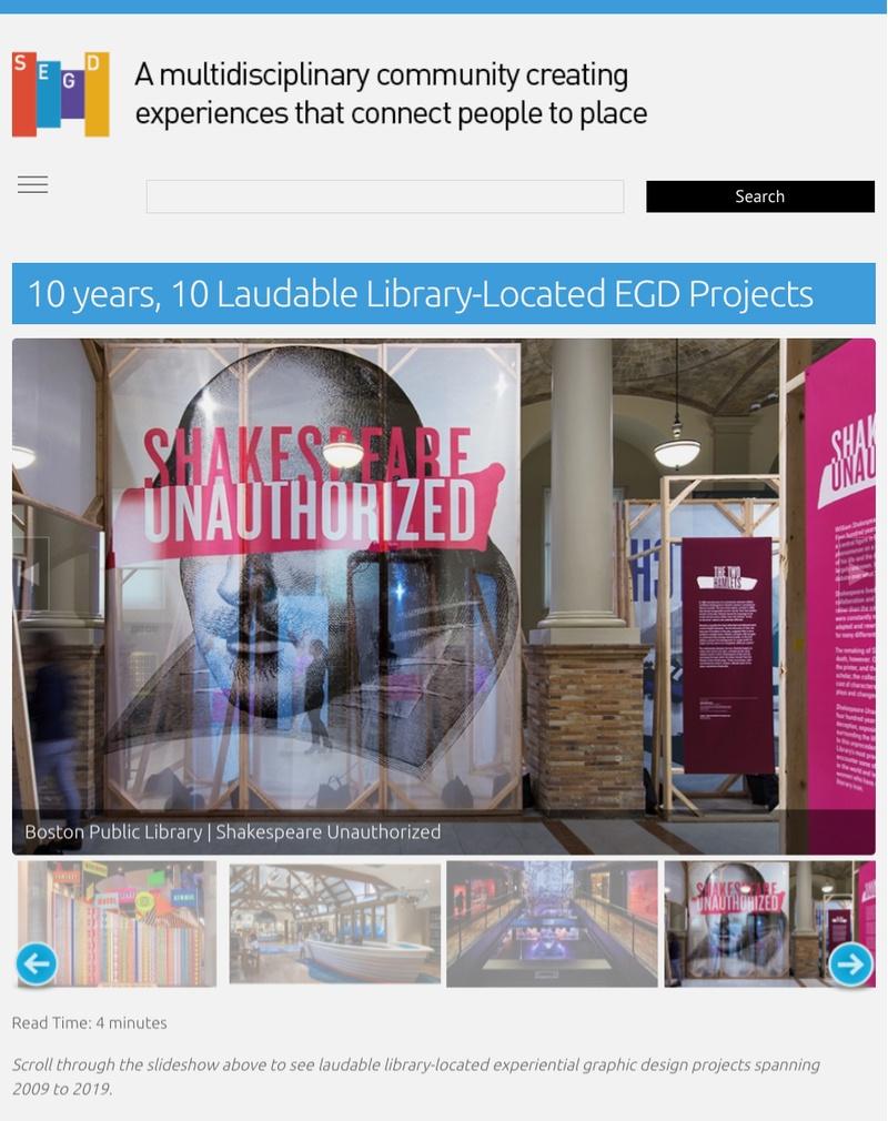 SEGD_Best Library