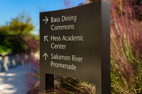 Research Campus Sign System