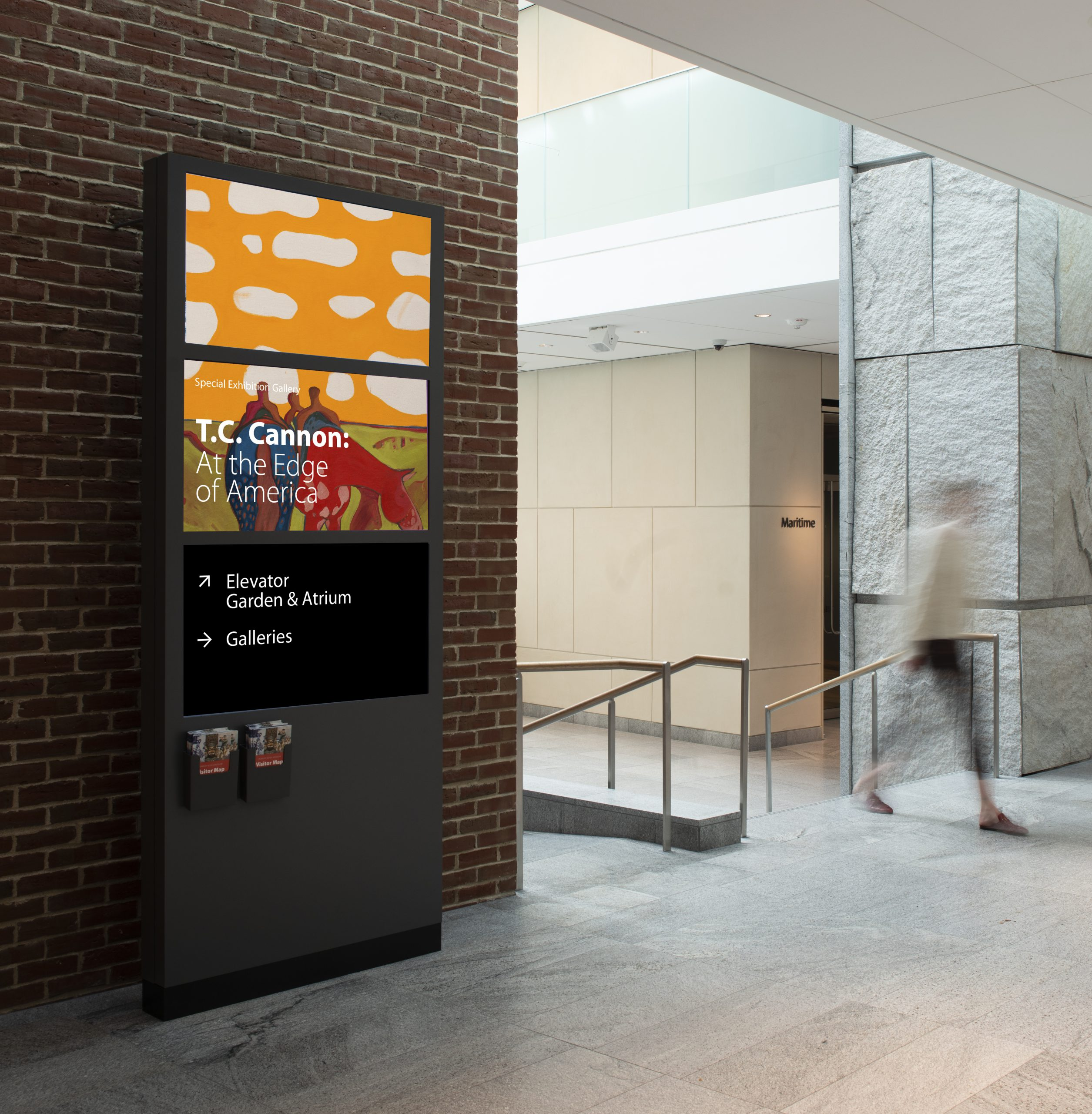 Museum Signage Wayfinding Design