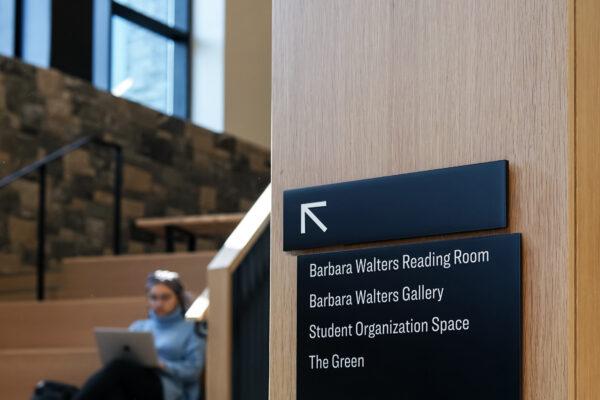 Higher Education Signage Design