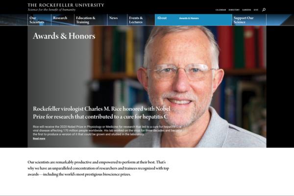 Rockefeller University Website