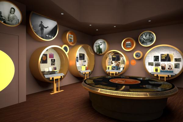 Louis Armstrong House Museum Exhibit Design
