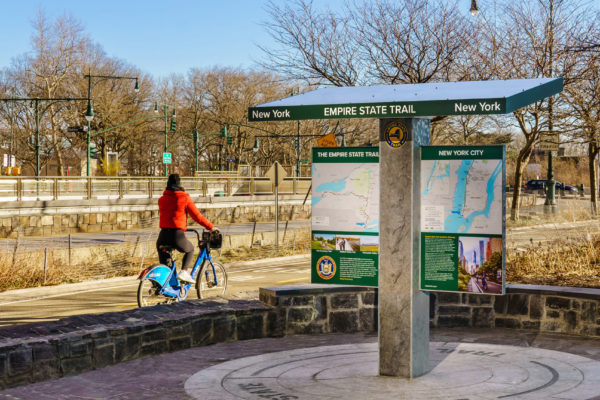 Wayfinding System for Empire State Trail