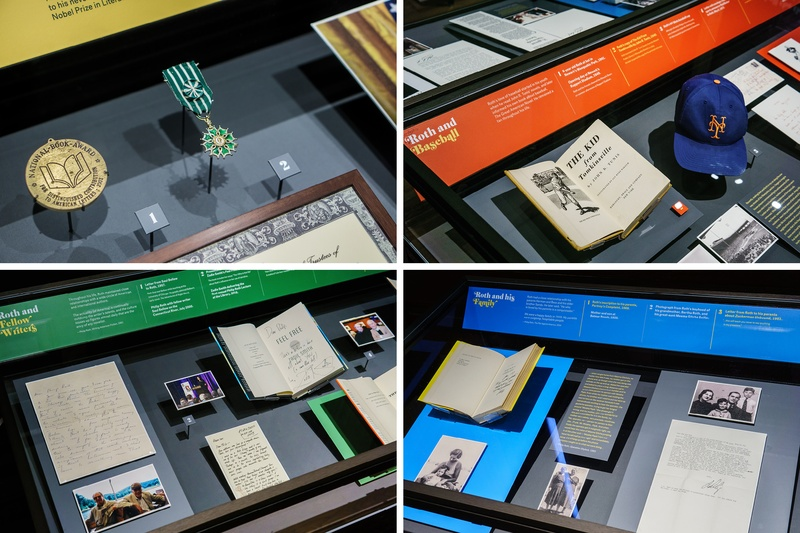 Philip Roth Personal Library Design