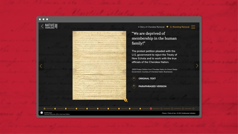 Web Design for Archival Documents