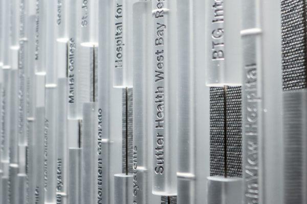 Curtain of Names & Data Art